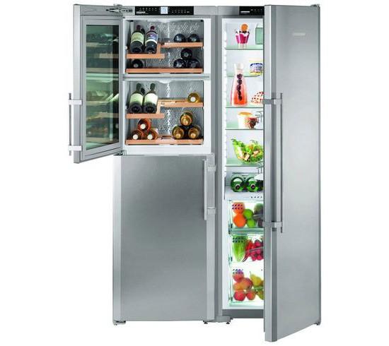 Холодильник с винным шкафом от Либхер
