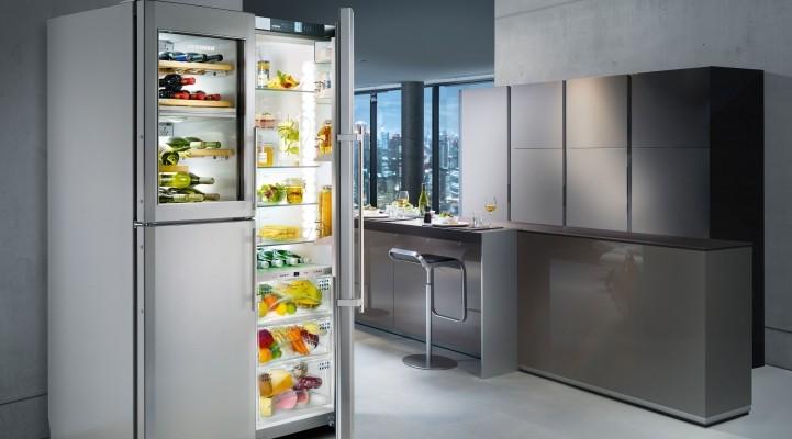 Холодильник с винным шкафом Либхер