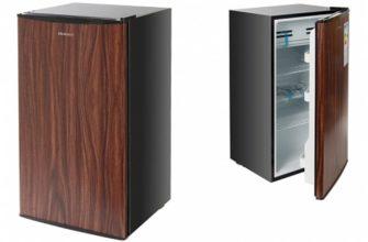 Маленький узкий холодильник