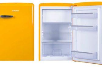 ретро холодильник Hansa