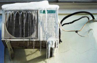 Использование кондиционера зимой на обогрев
