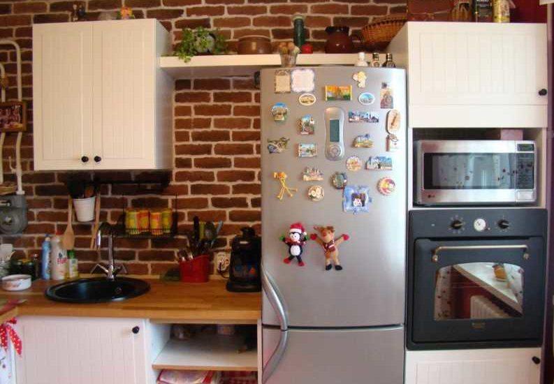Установка духовки рядом с холодильником