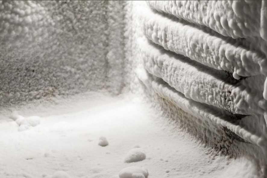 Разморозка морозильной камеры
