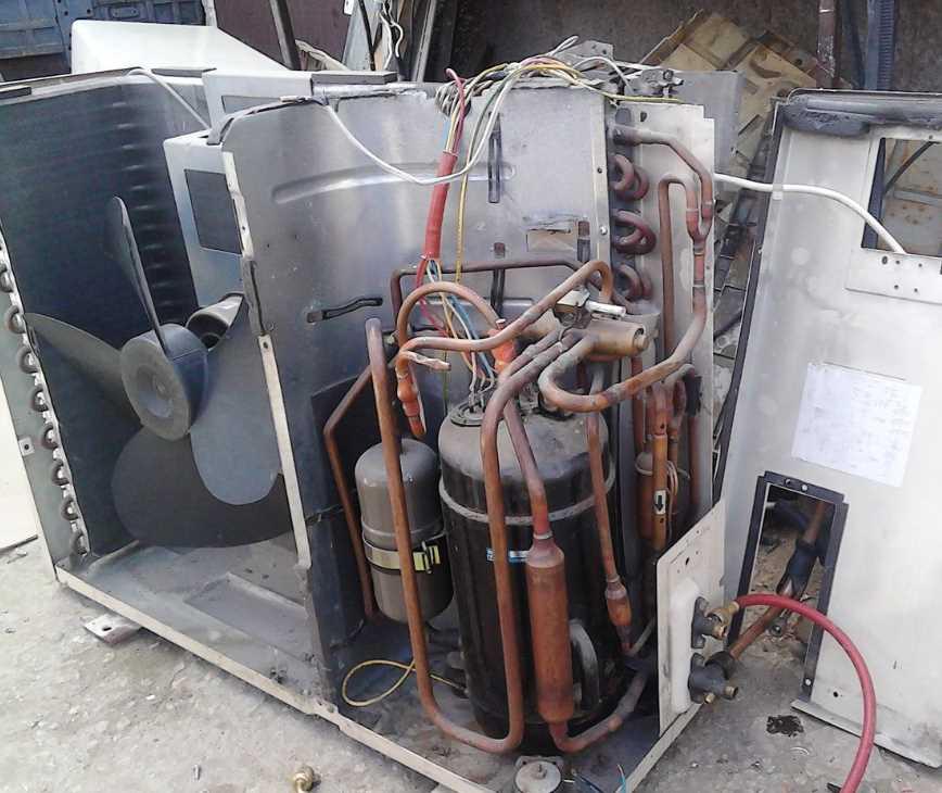 Как демонтировать кондиционер без потери фреона